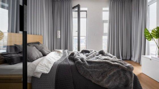 engineered hardwood in bedroom