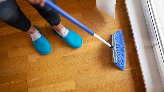 sweeping-a-floor