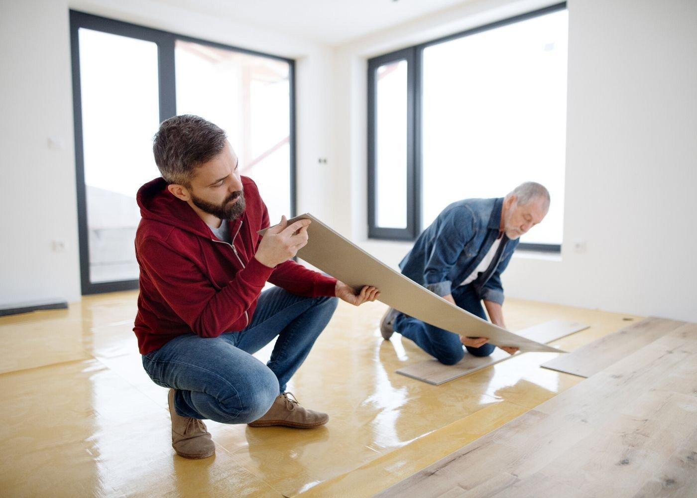 installing-luxury vinyl-flooring
